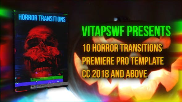 Videohive - Halloween Horror Transitions - 28752927