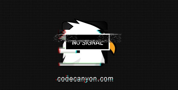 Videohive No Signal Glitch Logo 16935131