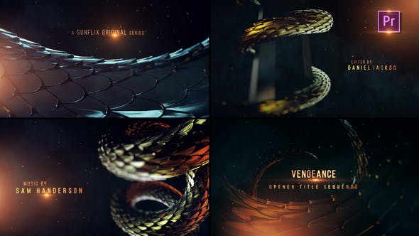 Videohive - Vengeance I Opening Title Sequence- Premier PRO - 29151189