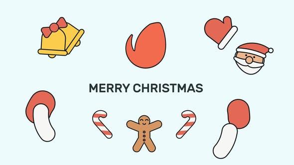 Videohive Christmas Logo 25116333