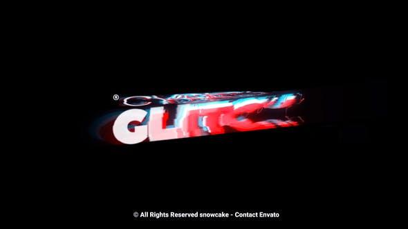 Videohive Cyber Glitch Titles 28401898