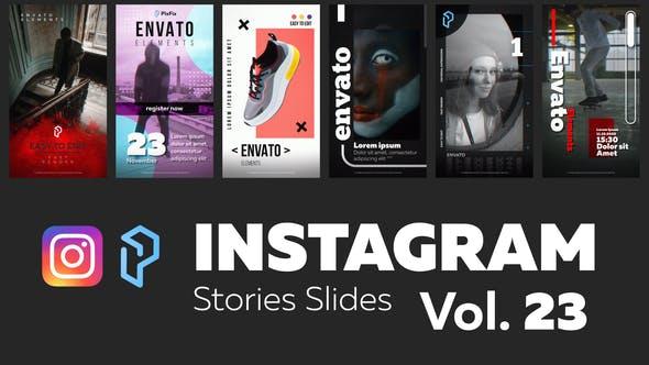 Videohive Instagram Stories Slides Vol. 23 29315574