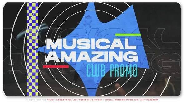 Videohive Music Club Promo 29334877