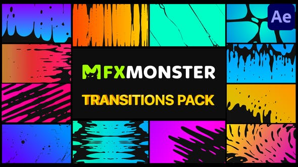 Videohive Organic Transitions After Effects 29338767