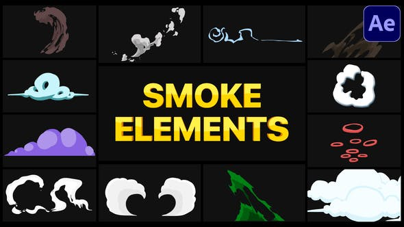 Videohive Smoke Elements Pack   After Effects 29301467