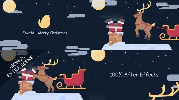 Videohive Merry Christmas Logo 25159945