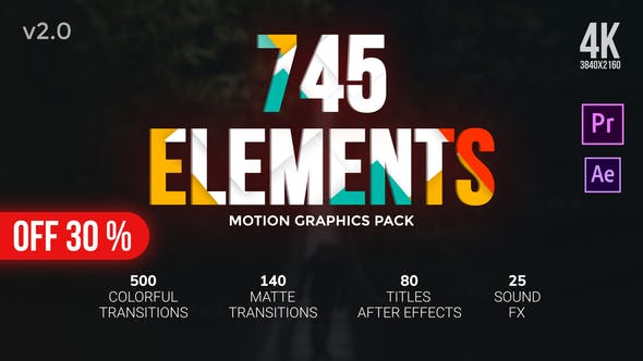 Videohive - Transitions Pack - 24766267