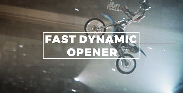 Videohive Fast Dynamic Opener 21232768