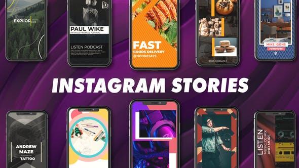 Videohive Instagram Stories Package 28676209