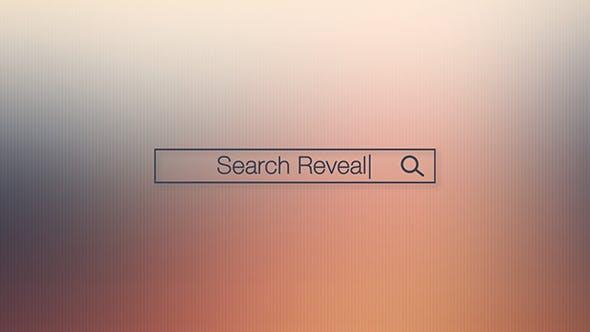 Videohive Search Bar Logo Reveal 15181202