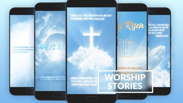 Videohive Worship And Prayer Instagram Stories 29367531
