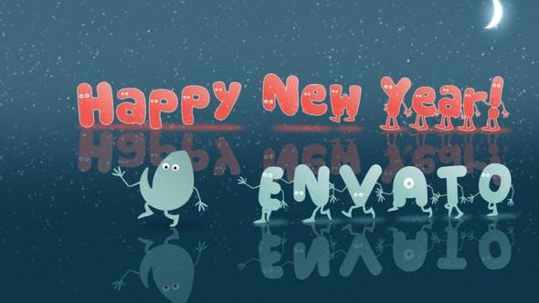 Videohive Christmas & New Year Opener Cartoon 13862123