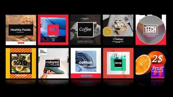 Videohive Instagram Product Posts 28983349