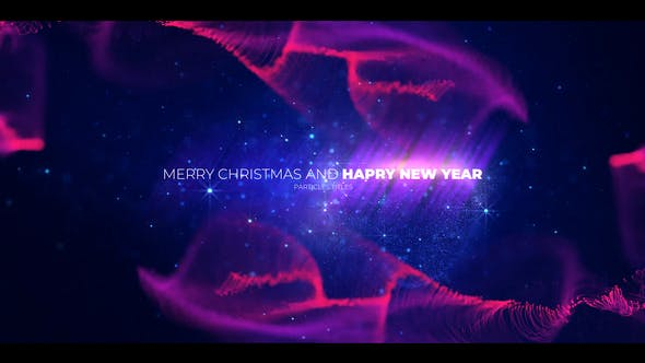 Videohive Christmas Opener with Particles 29363989