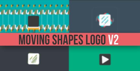 Videohive Moving Shapes Logo Reveal V2 5706393