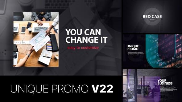 Videohive Unique Promo v22 | Corporate Presentation 22645718