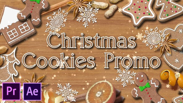 Videohive - Christmas Cookies Promo - Premiere Pro - 29575891