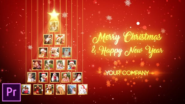 Videohive - Christmas Tree Photos Opener - Premiere Pro - 29575956
