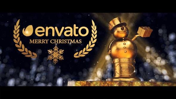 Videohive Christmas Logo 22963662