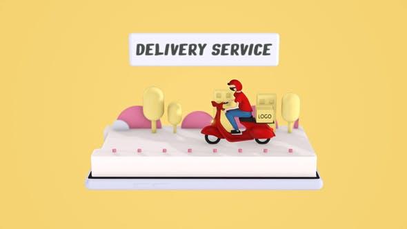 Videohive Delivery Service 29657948