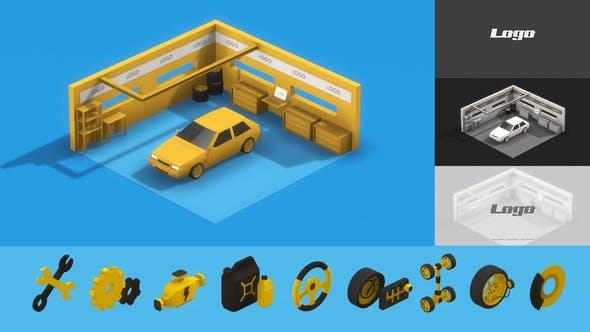 Videohive Auto Repair & Service 29696011