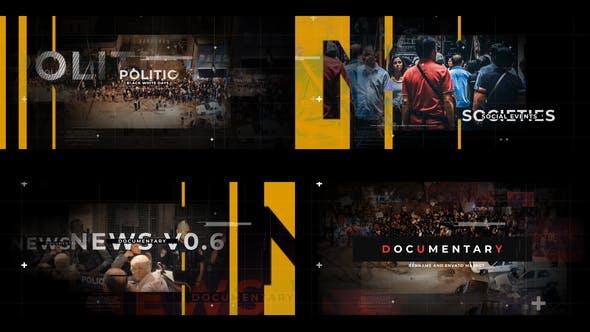 Videohive Documentary News Opener 29294140