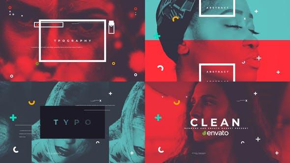 Videohive Clean Typo Opener 29252740