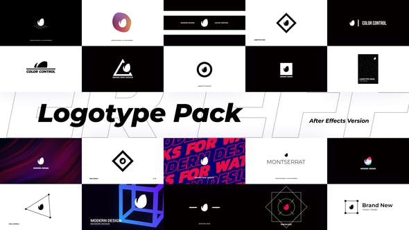 Videohive Abstract Logotype Pack 29567590