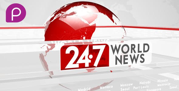 Videohive 24/7 WORLD NEWS 10022373