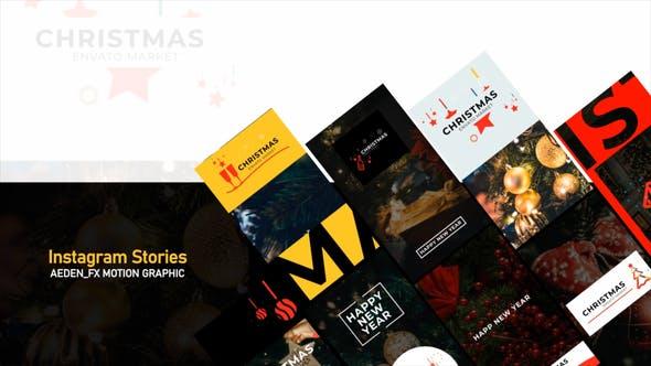 Videohive Christmas Instagram Stories 29613224