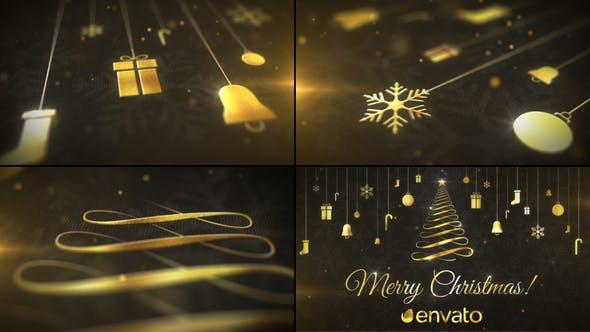 Videohive Christmas Greetings 29473261