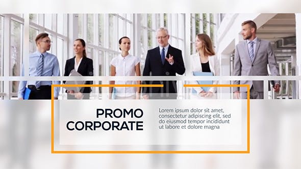 Videohive Corporate Lines - Business Presentation 20779048