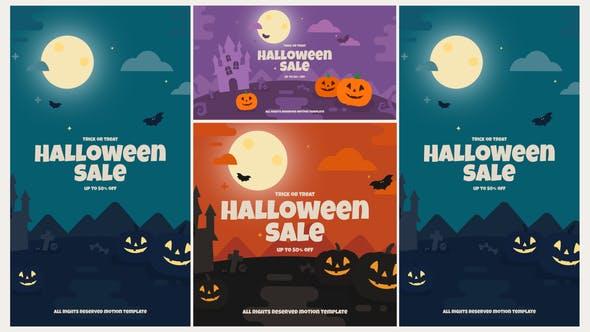 Videohive Halloween Opener 28944659