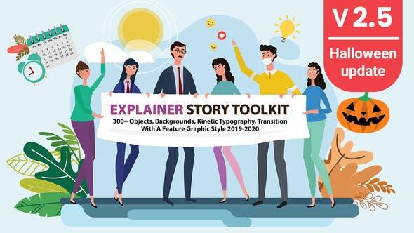 Videohive - Story Maker Explainer Toolkit V2.5 - 25220783