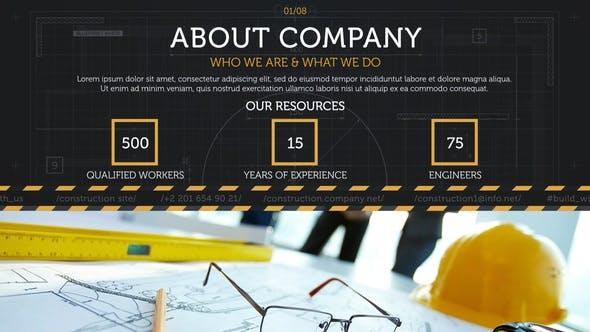 Videohive Construction Site Promo 29668229