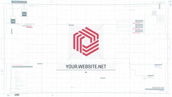 Videohive Tech UI Screen Logo 29566707