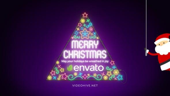 Videohive Christmas Virus 29603586