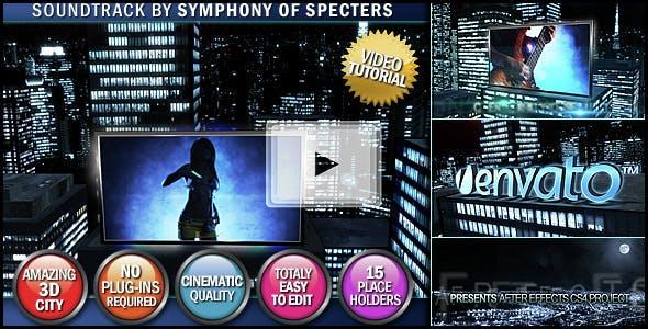 Videohive Night Stranger 153358