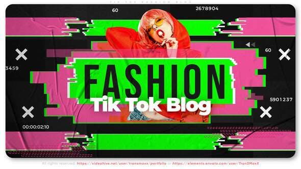 Videohive Tik Tok Fashion Blog 29622793