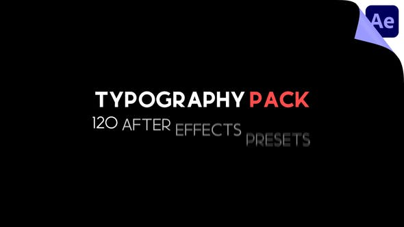 Videohive - Typography Pack - 29547634
