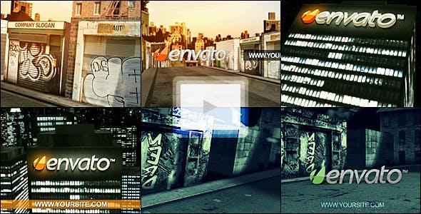 Videohive Urban Logo Reveal Pack 1032276