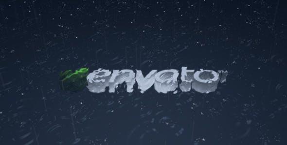 Videohive Rain Logo Reveal 253304