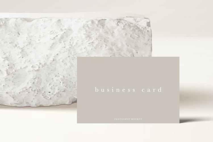 Business Card Mockup #45 ZBDEQEK