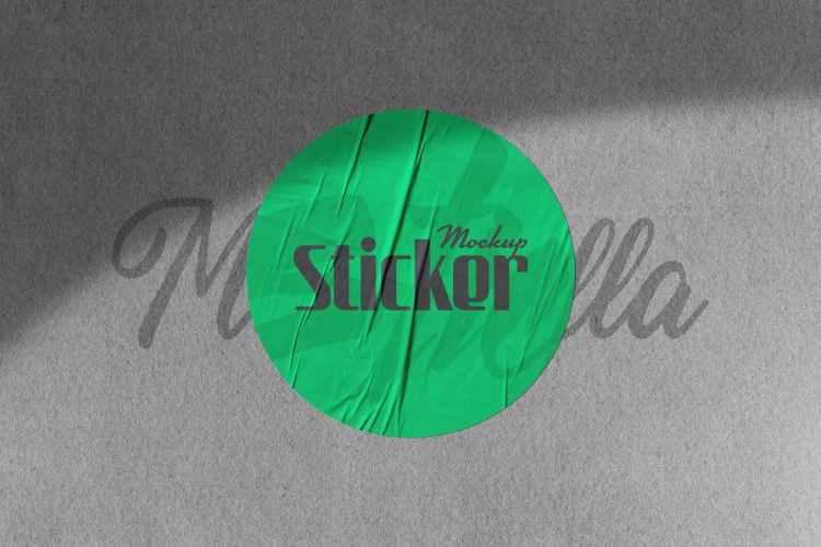 Sticker Mockup WC3FKZ2