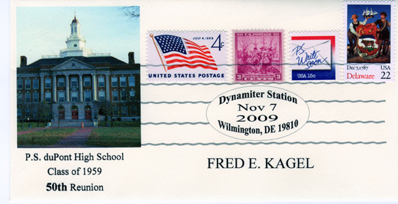 Stamp and Envelope Commemorative Cover by Cover