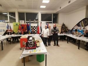 Les participants au DAFFE à la dégustation à l'aveugle.