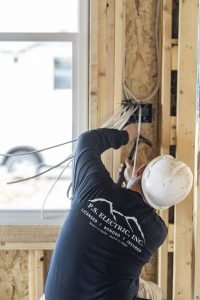 P.S. Electric, Inc. - Male Electrician New Construction Wall Fixture Installation and Wiring