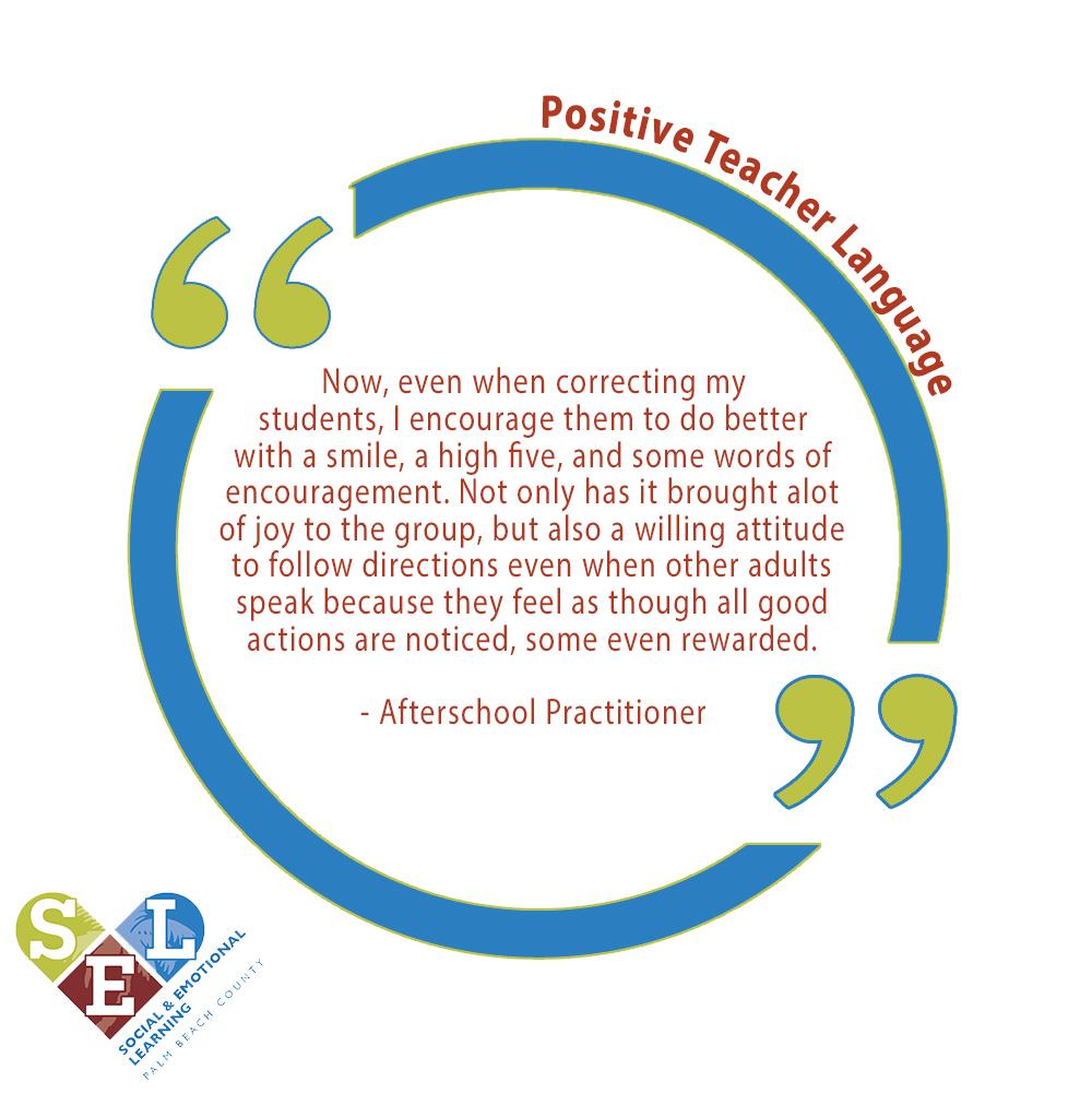 Positive Teacher Language 2
