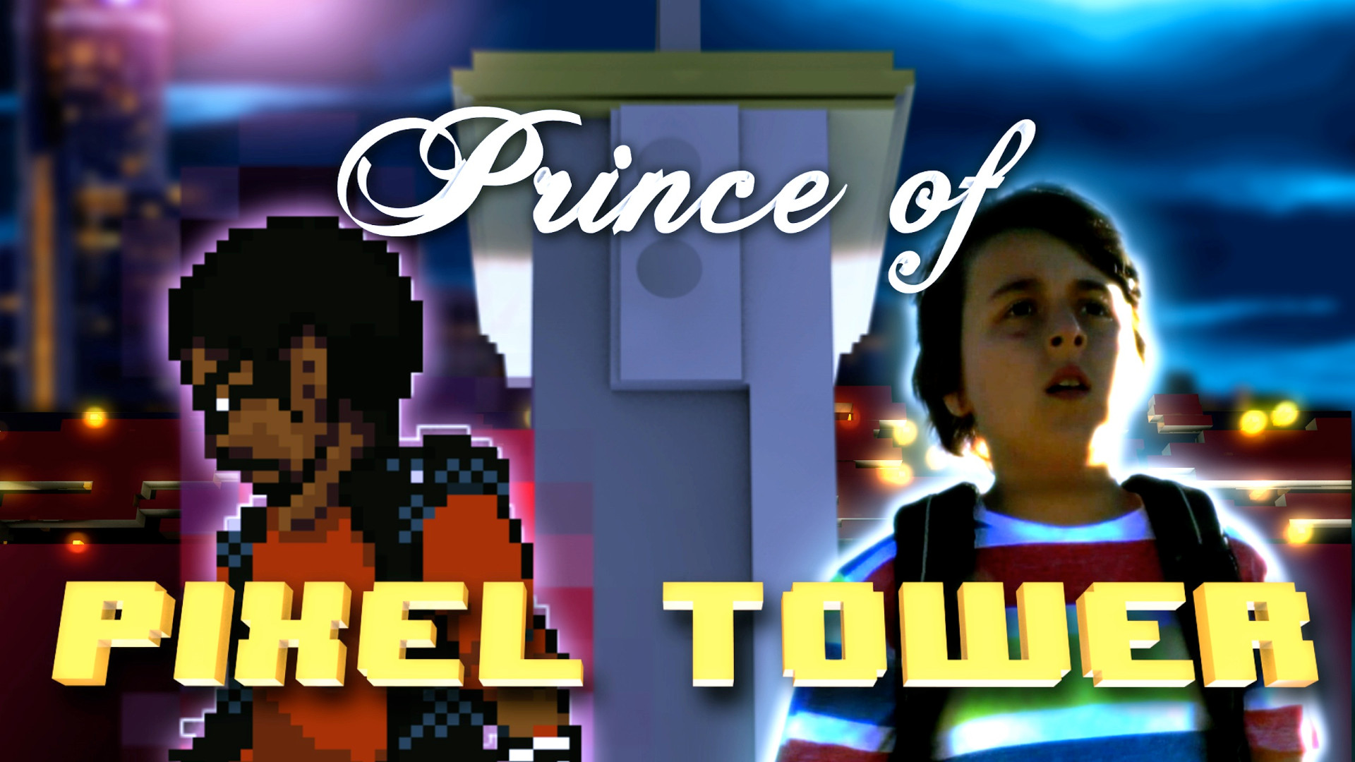 Frame from Prince of Pixel
