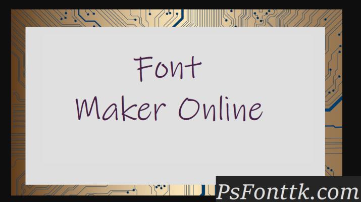 Font Maker Online